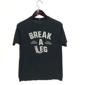 FOO FIGHTERS T-shirt L Large Break A Leg 2015 Tour